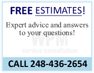 FREE ESTIMATES! Expert advice and answers to your questions! CALL 248-436-2654
